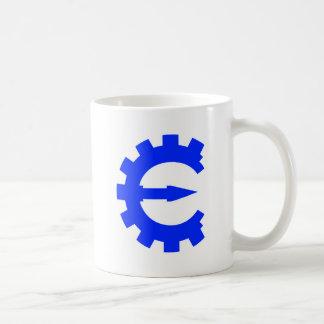 Basic Blue Logo Classic White Coffee Mug
