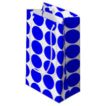 Basic Blue Polka Dot Gift Bag