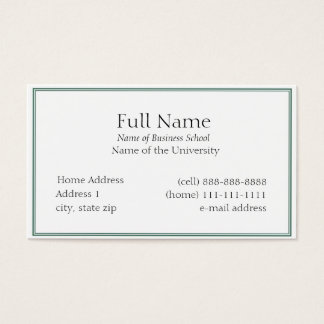 Standard Business Cards & Templates | Zazzle