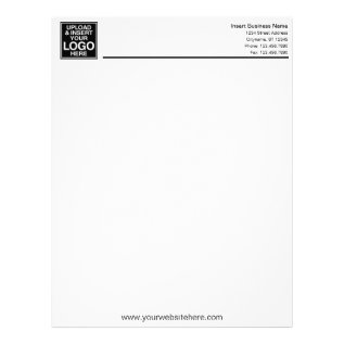 Basic Business Office Letterhead at Zazzle