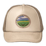 Basic Cap with Whitetop Seal Trucker Hat