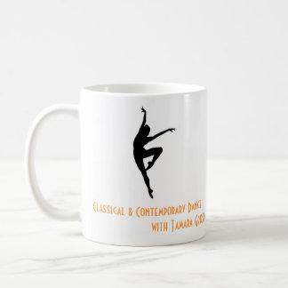 Basic CCD mug with Martha Graham quote