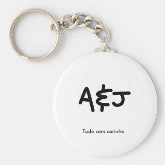 Basic Chaveiro A&J 5,7cm Keychain