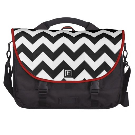 Basic Chevron Pattern Laptop Bag