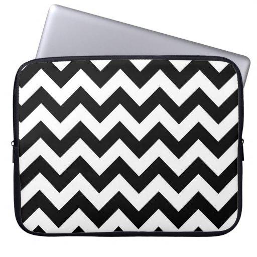 Basic Chevron Pattern Laptop Computer Sleeve