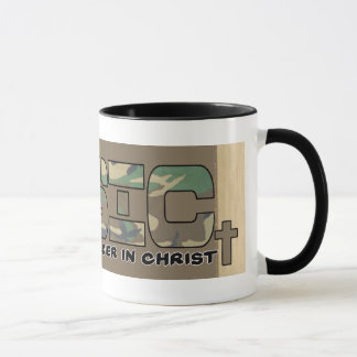 BASIC CHRISTIAN ACRONYM - SOLDIER IN CHRIST MUG