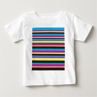 Basic Color Stripes Baby T-Shirt