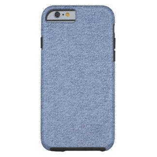 Basic Colors Blue Jean Tough iPhone 6 Case