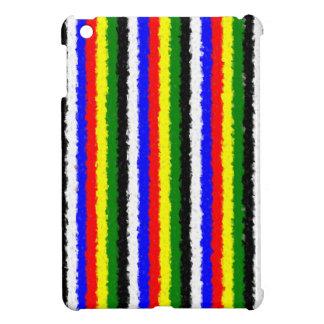 Basic Colors Curly Stripe iPad Mini Case