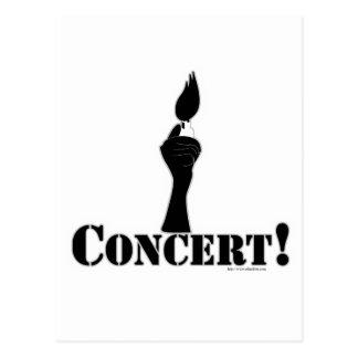 Basic Concert Postcard
