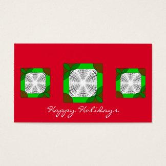 Basic Customizable Mini Holiday Card