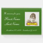 [ Thumbnail: Basic, Customized Funeral/Memorial Guest Book ]