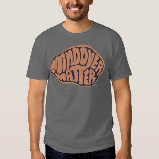 Basic Dark Mind Over Matter T with orange logo Tee Shirt
