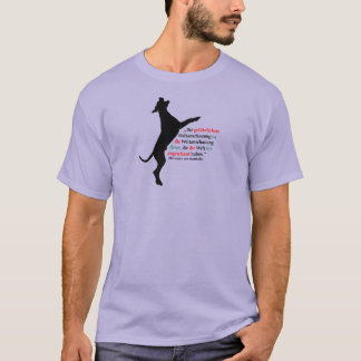 Basic dark t shirt individual arranges