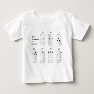Basic Dominant Seventh Chords Baby T-Shirt
