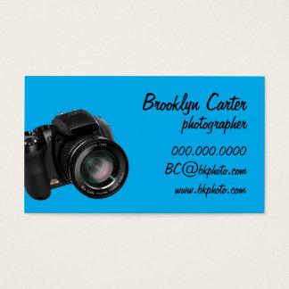 Basic DSLR Photography Biz Card (Cyan)