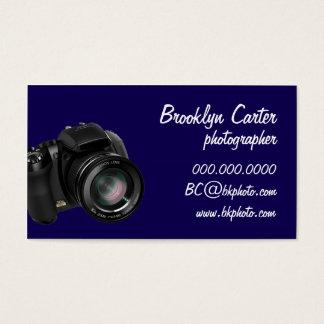 Basic DSLR Photography Biz Card (Navy)