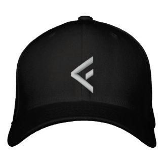 basic eff wht embroidered baseball hat