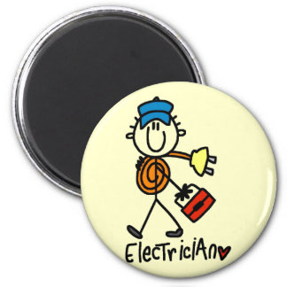 Basic Electrician Tshirts and Gifts 2 Inch Round Magnet