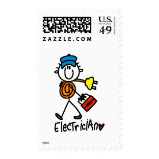 Basic Electrician Tshirts and Gifts Stamp