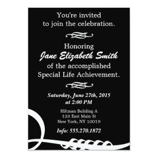 Basic Elegant B&W Invitation