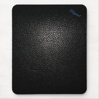 Basic elegant Leather black style pad Mouse Pad