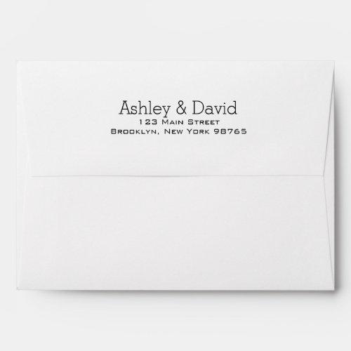 Basic Essential Invitation Envelope