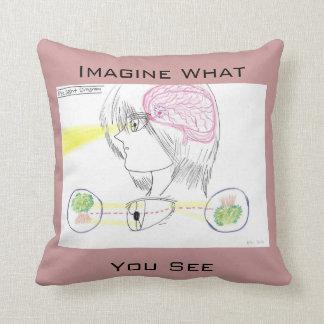 Basic Eye sight Diagram Pillow