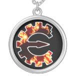 Basic Fractal Logo Necklace