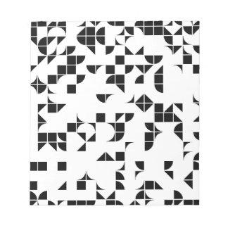 Basic Geometry Memo Note Pad