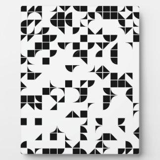 Basic Geometry Plaque