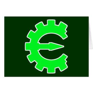 Basic Green Logo Card