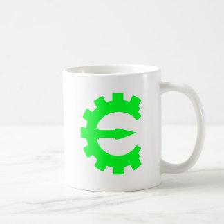 Basic Green Logo Classic White Coffee Mug