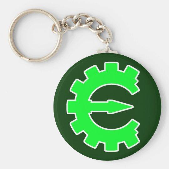Basic Green Logo Keychain