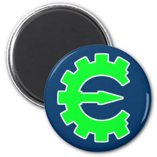 Basic Green Logo Magnet
