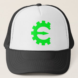 Basic Green Logo Trucker Hat