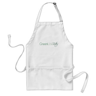Basic GreenLiteBites Logo Apron