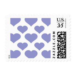 Basic Heart Violet Tulip Postage