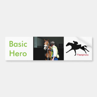 Basic Hero Bumper Sticker