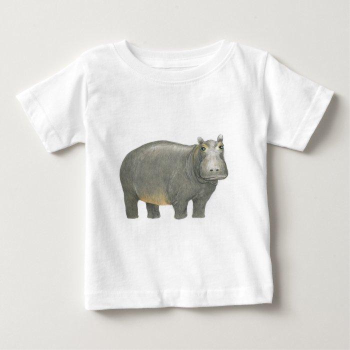 Basic Hippo Baby T-Shirt
