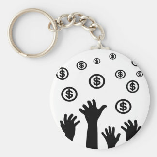 Basic Income Keychain
