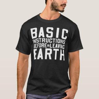 Basic Instructions Before Leaving Earth BIBLE T-SH T-Shirt