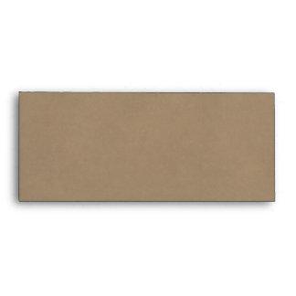 Basic Kraft Paper Business Size Envelope