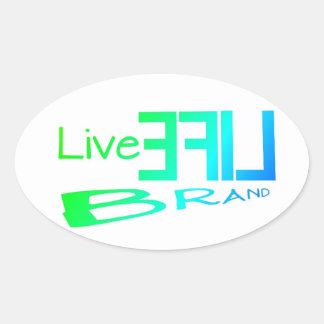 Basic LiveLife Brand Stickers
