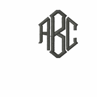 Basic Long Sleeve Grey Monogram