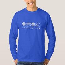 Basic Long Sleeve - White 128BPM T-Shirt
