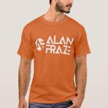 Basic Long Sleeve - White AF with alanfraze.com T-Shirt