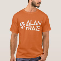 Basic Long Sleeve - White AF with alanfraze.com T-Shirt
