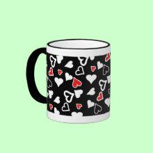 Basic Love Hearts Mug