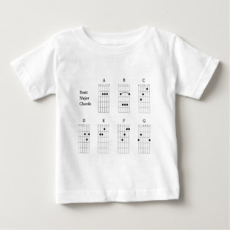 Basic Major Chords Baby T-Shirt